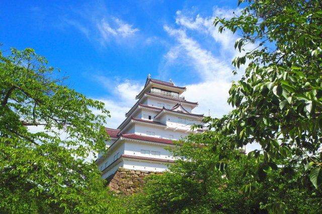 鶴ケ城の見所