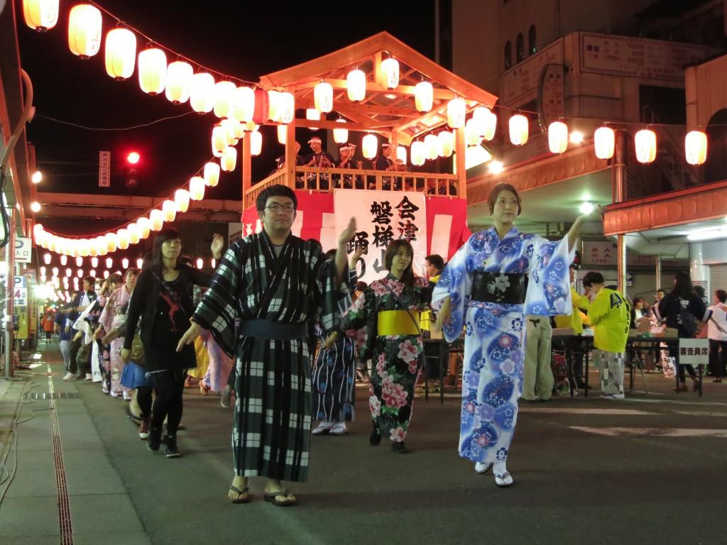 会津磐梯山踊り